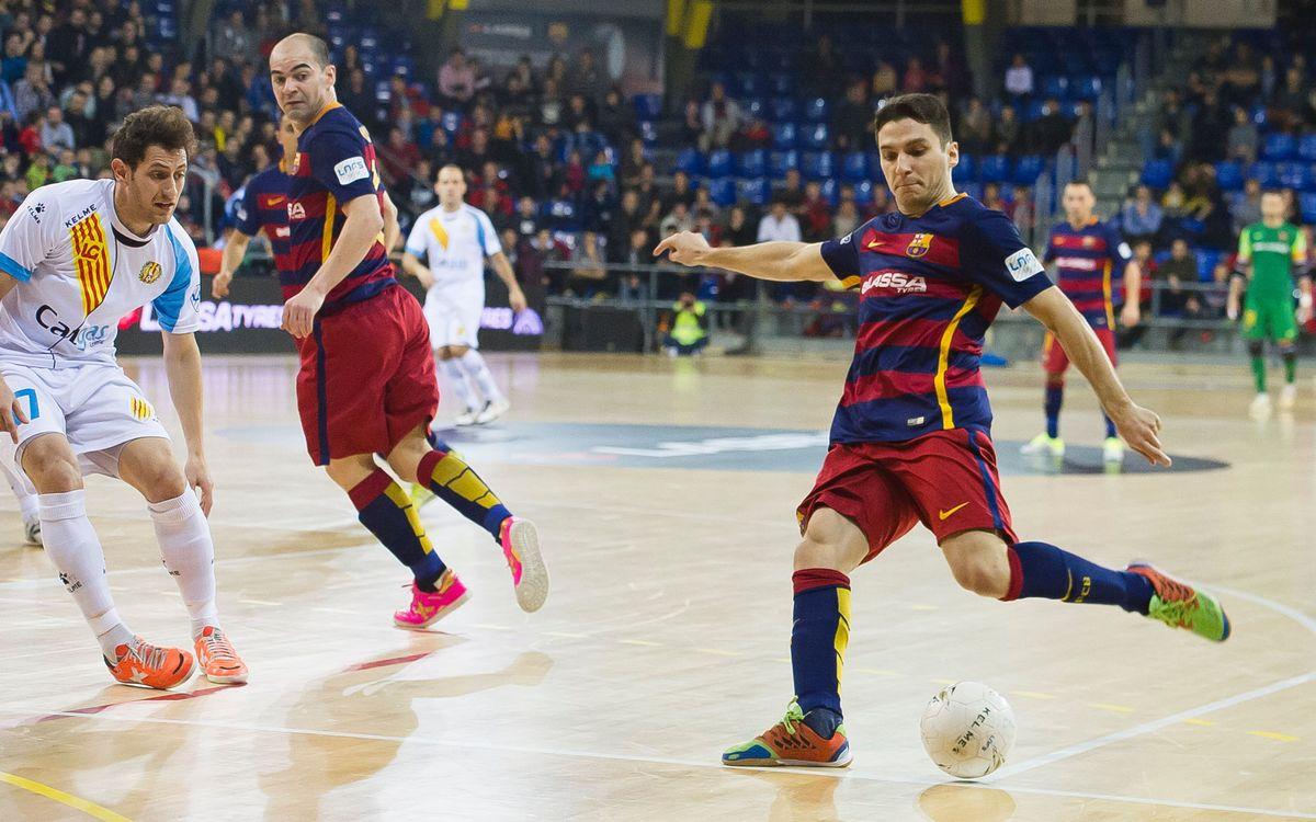 El Barça Lassa quiere los tres puntos antes del parón