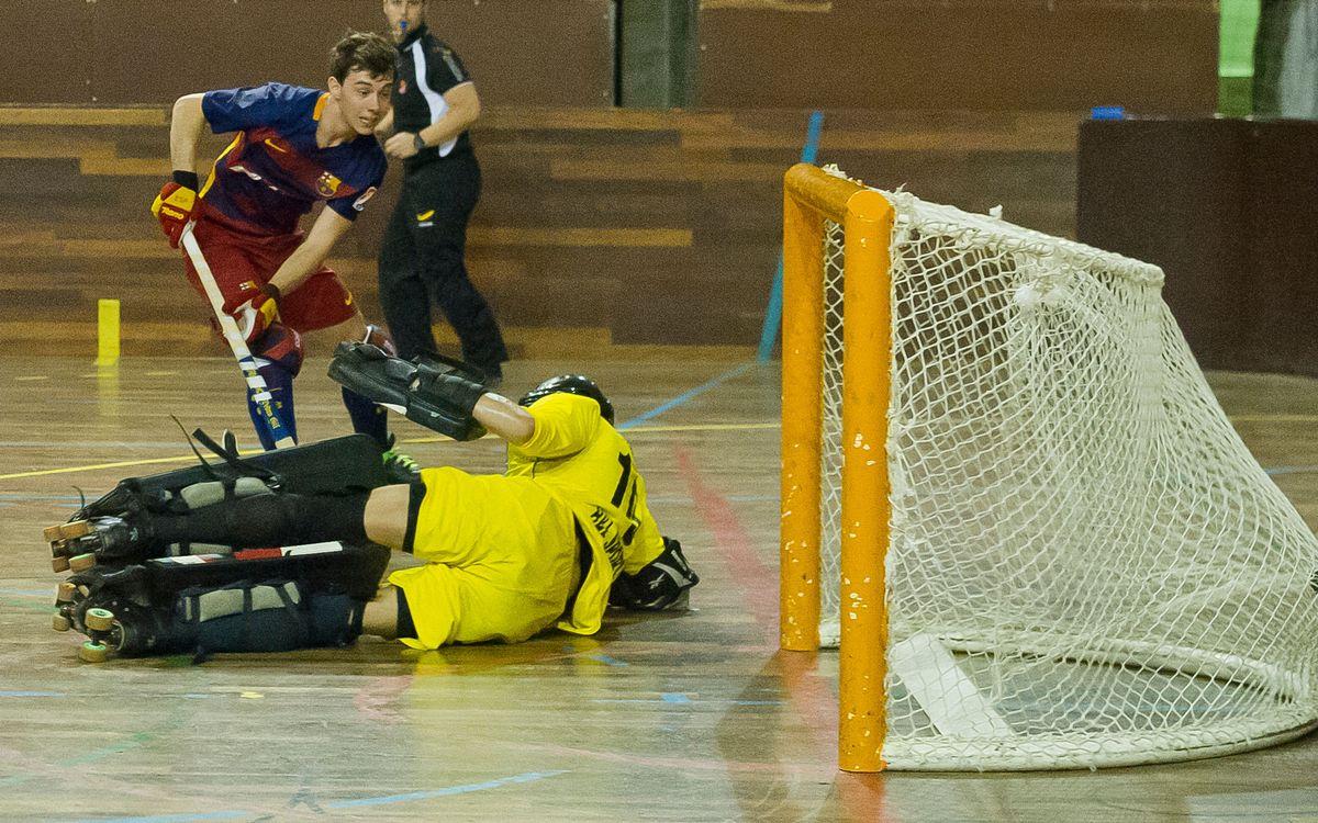 El Barça Lassa B torna al camí de la victòria a la Primera Nacional