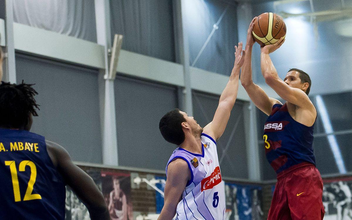 Palencia Baloncesto - Barça Lassa B: Caen en casa del líder (83-68)