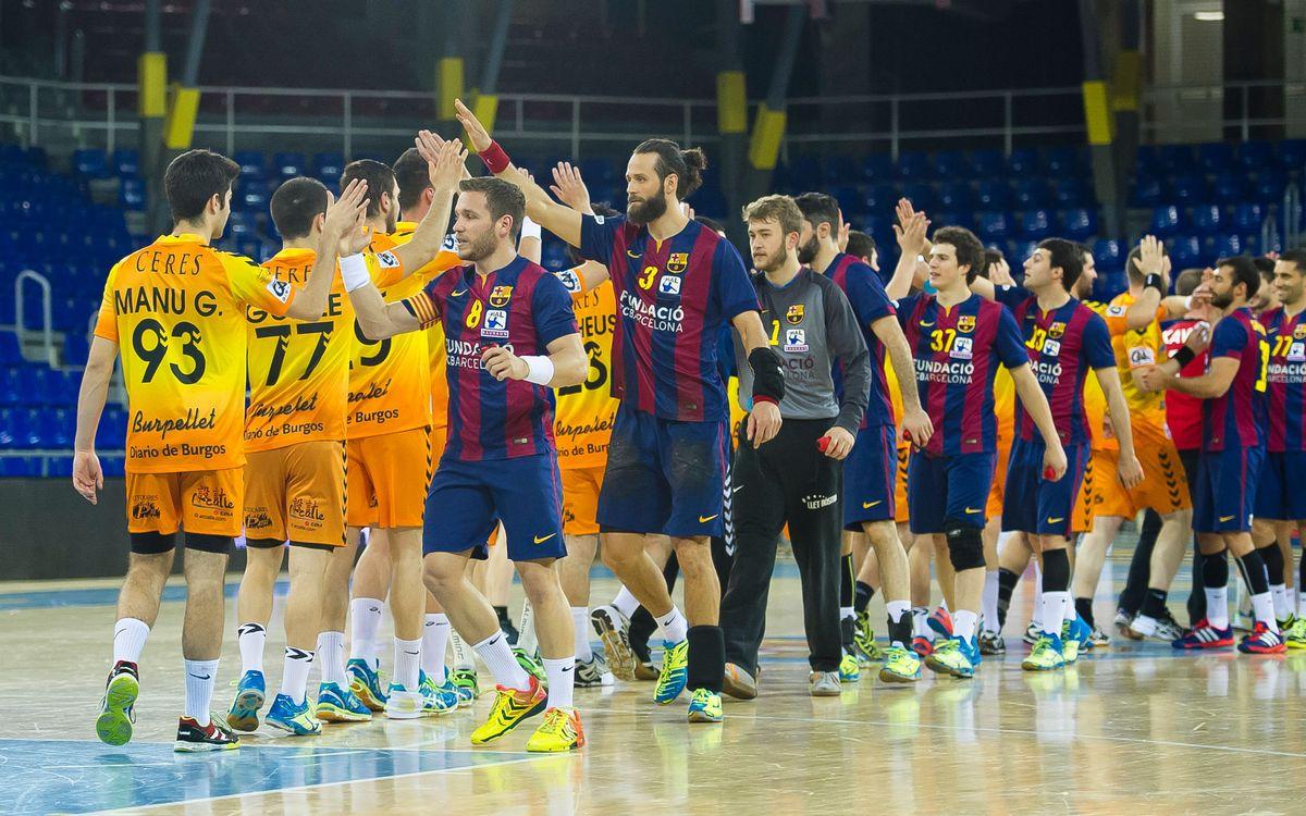 El BM Villa de Aranda, revelación de la Liga, visita al Barça de balonmano