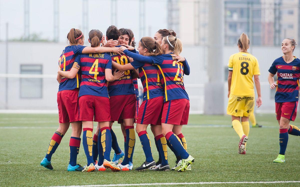 Atlético de Madrid Féminas - FC Barcelona Femenino: Partido de referencia
