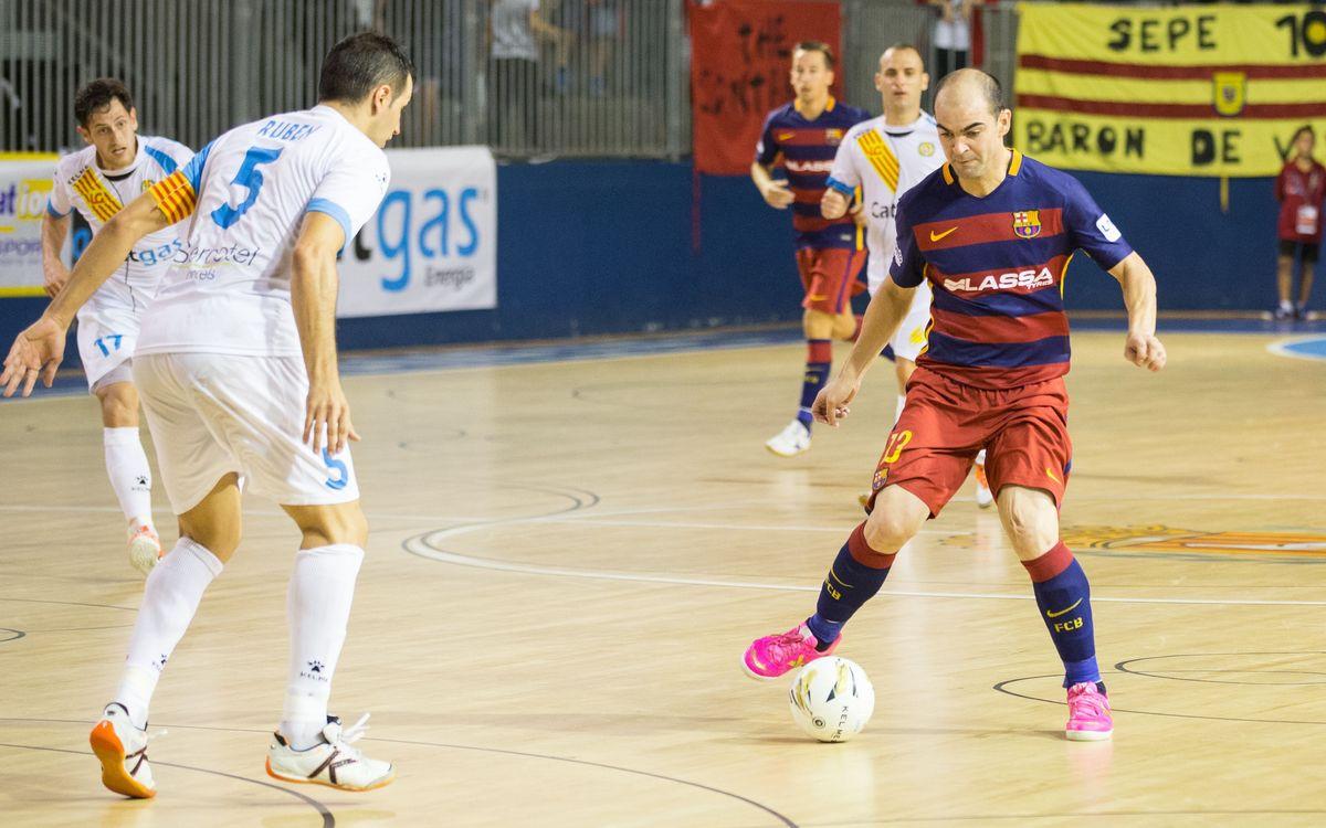 Tercer xoc entre els dos equips catalans de la LNFS