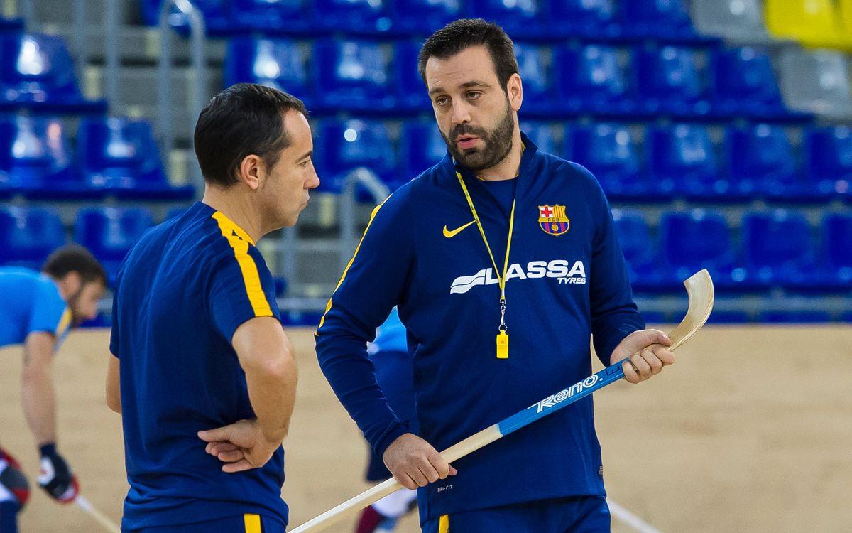 """Ricard Muñoz i Xavi Barroso: """"No pensem en qui serà el nostre rival a quarts"""""""