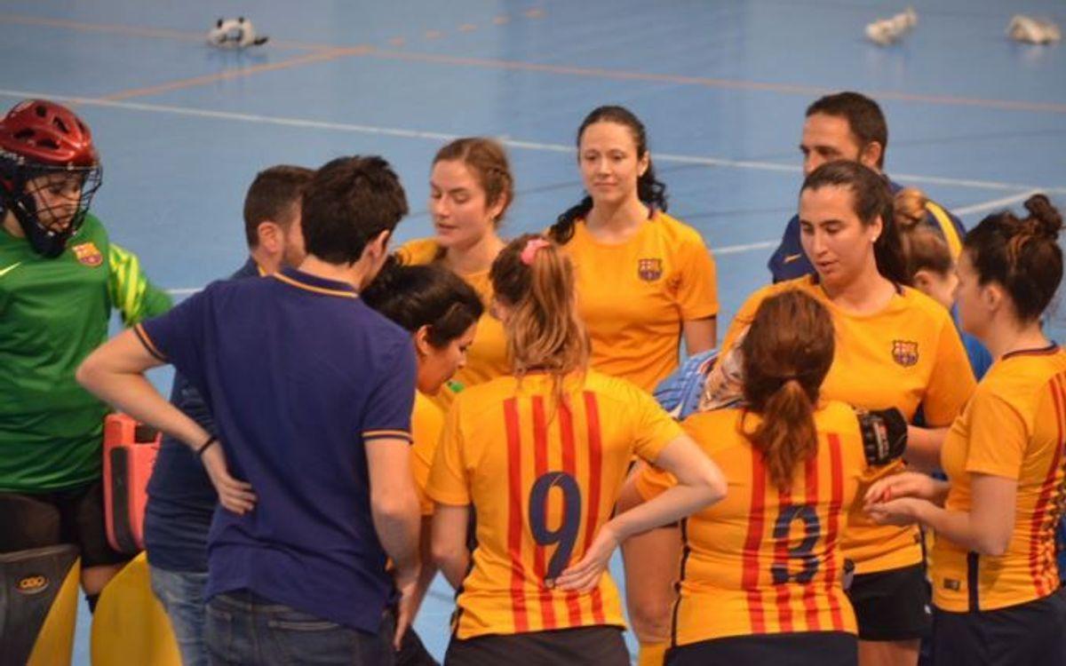 El Barça femenino de hockey sala finaliza en la 7ª posición en el Campeonato de España