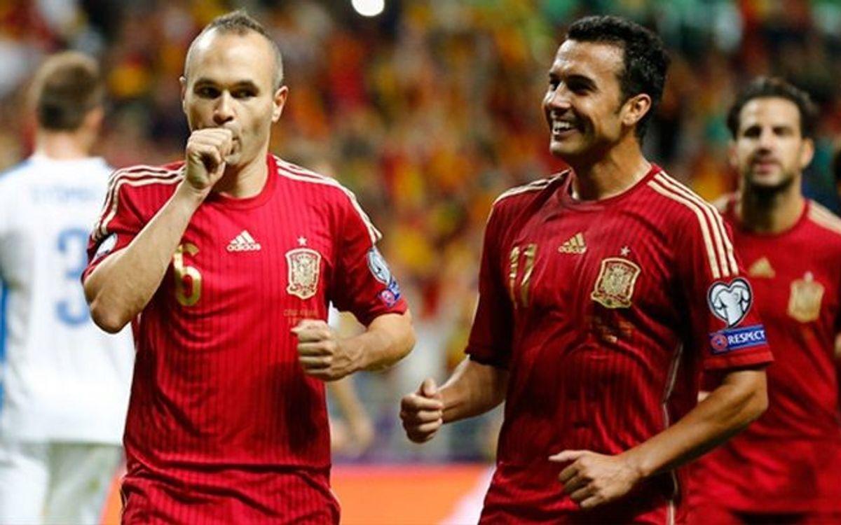 スペイン代表、ユーロ 2016出場を確実にするために