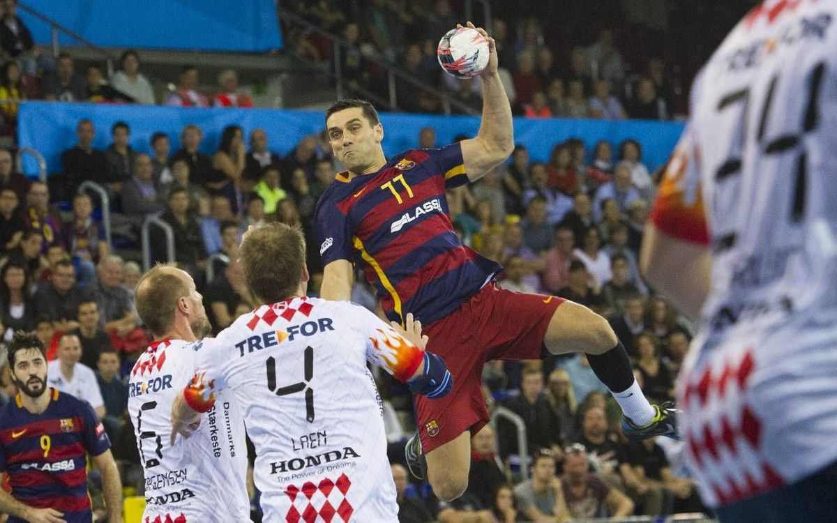 FC Barcelona Lassa – Kolding: Come from behind win (28-25)