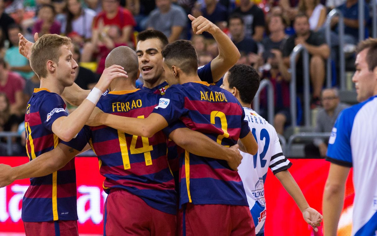 FC Barcelona – Jumilla Bodegas Carchelo: Sharp in attack (9-1)
