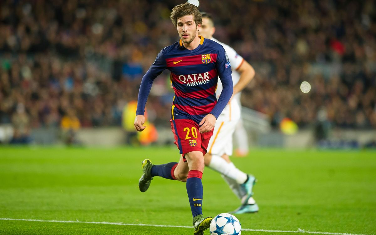 Sergi Roberto has sprained ankle