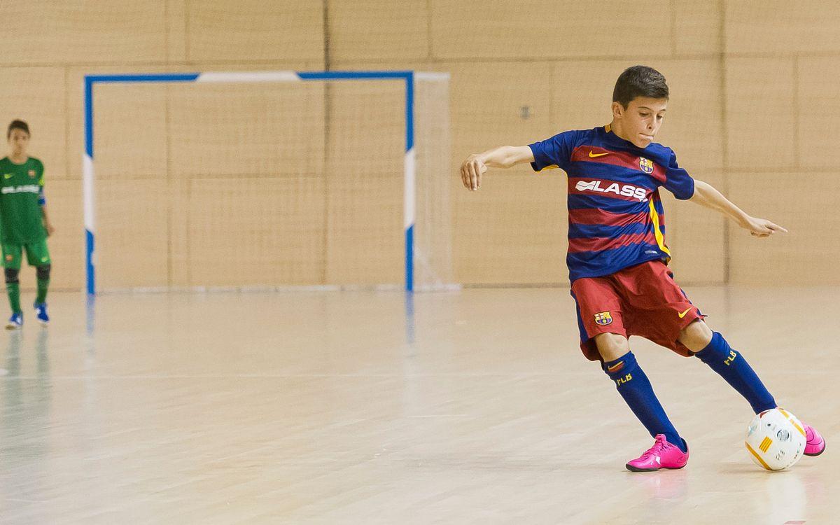 Derrota del Juvenil y victorias del resto de equipos del fútbol sala formativo