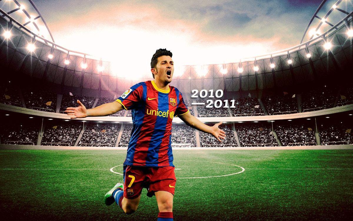 Los mejores goles de David Villa 2010/2011