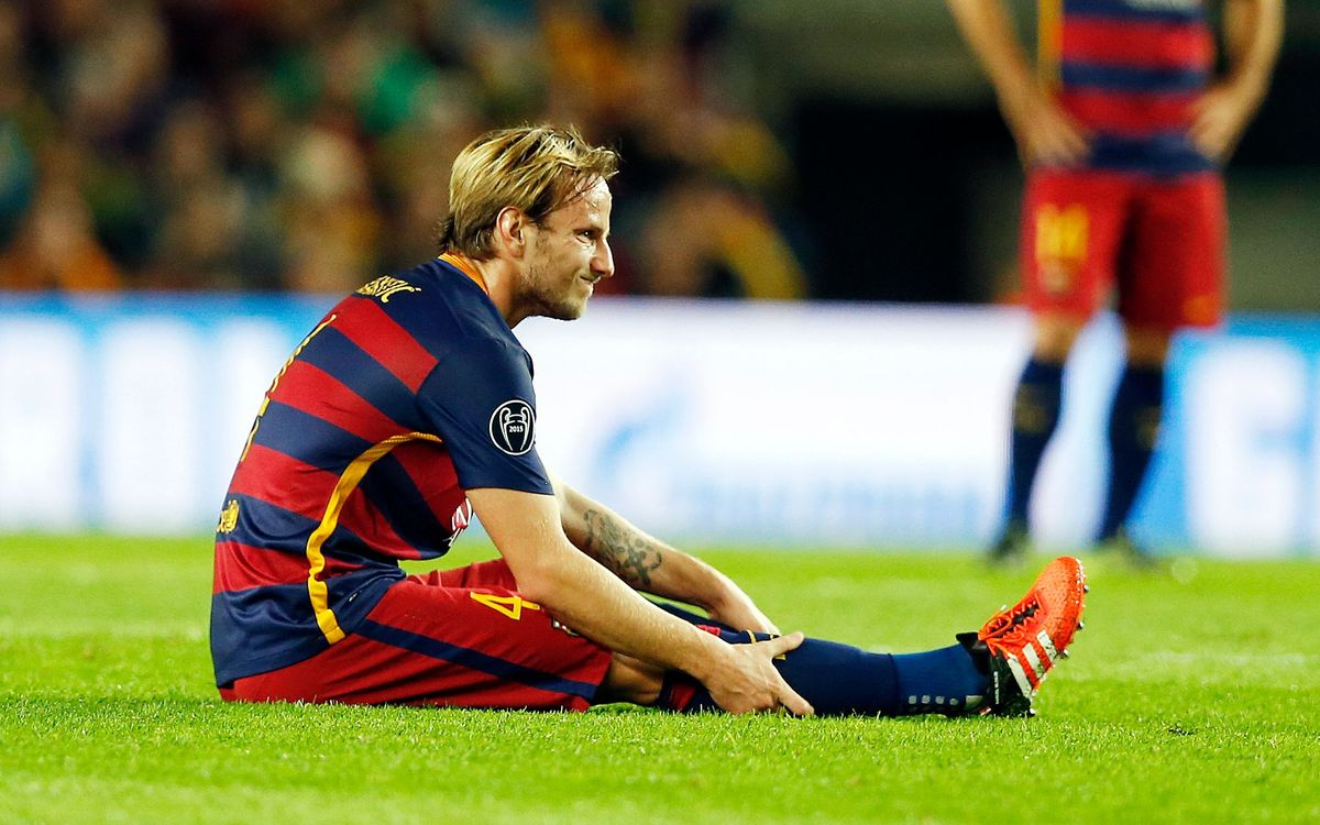 Ivan Rakitic will miss the game against Villarreal