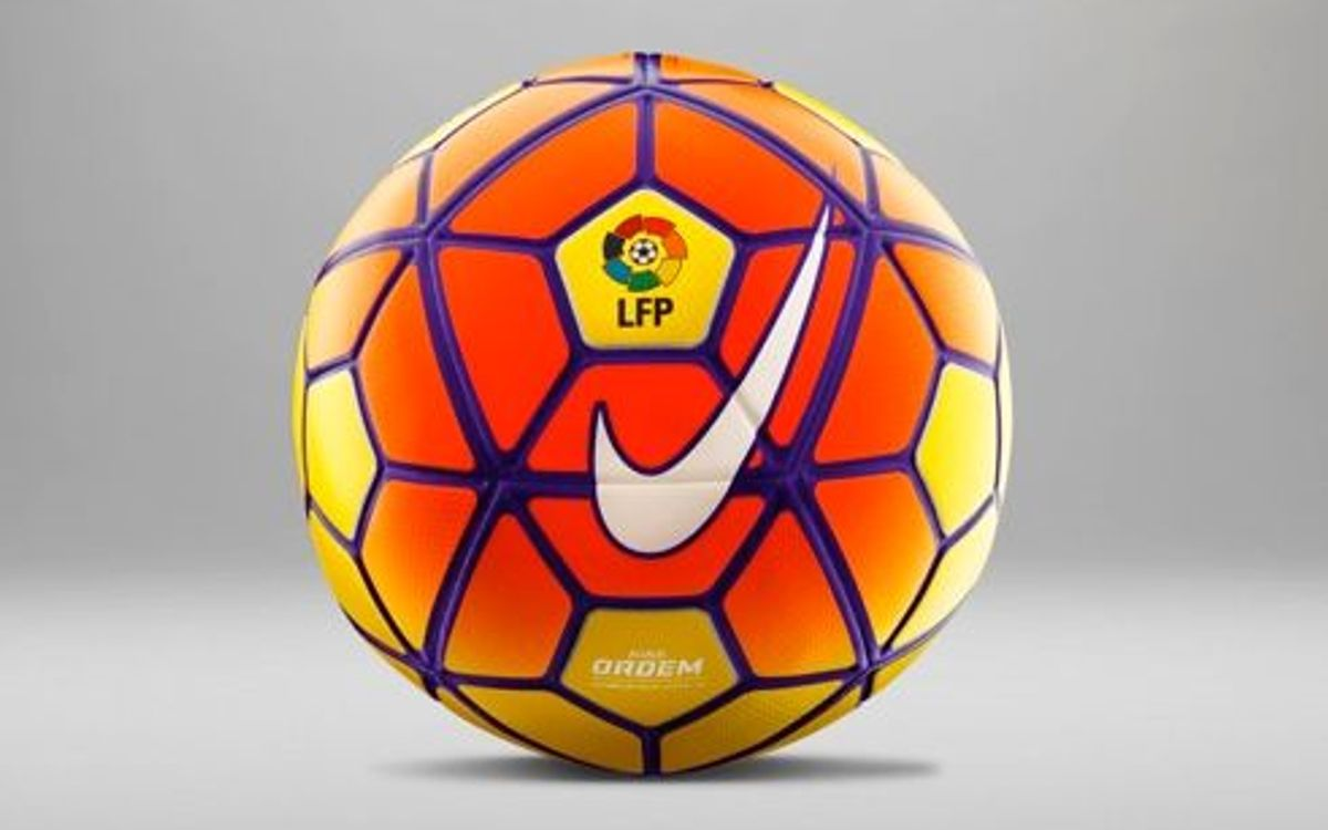 La Liga debut for new ball