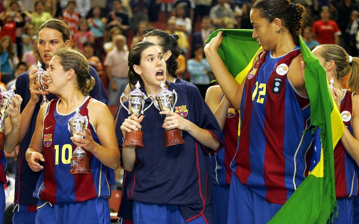 Anna Cruz, WNBA champion formed at UB Barça
