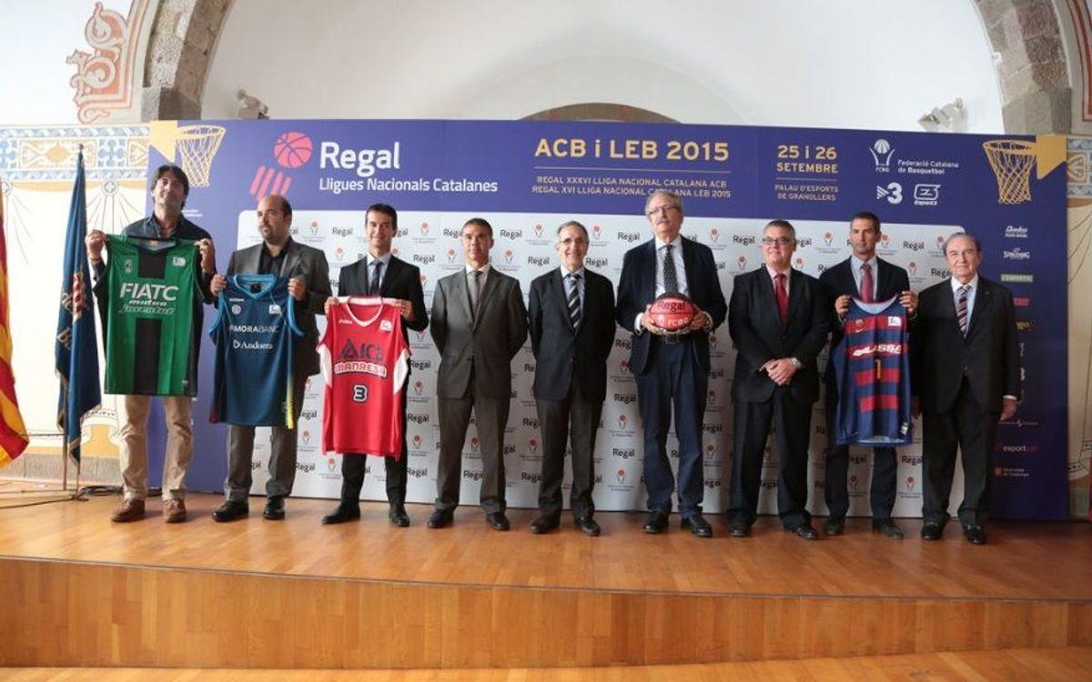 Presentació de la Regal XXXVI Lliga Nacional Catalana ACB