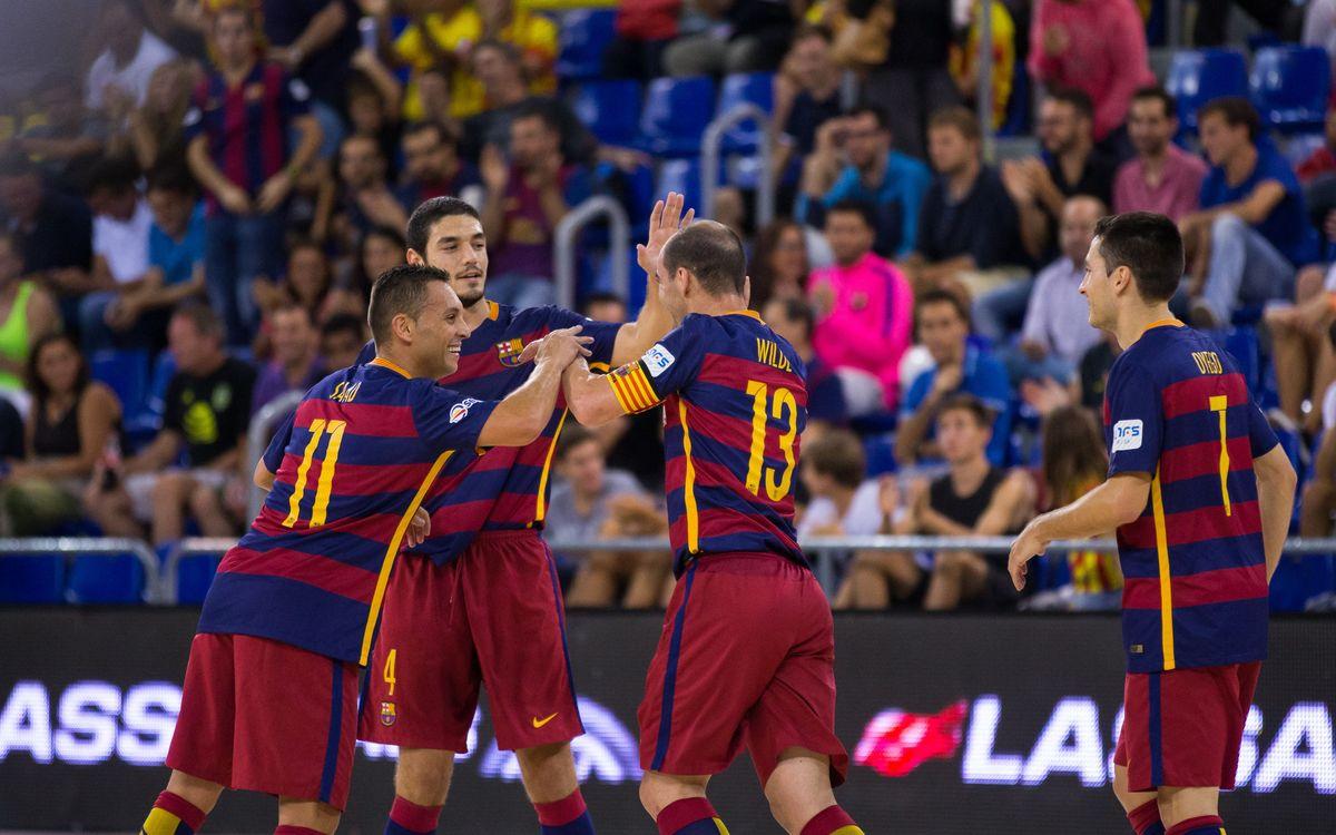 FCB Lassa - Jaén Paraíso Interior: El millor atac contra la millor defensa