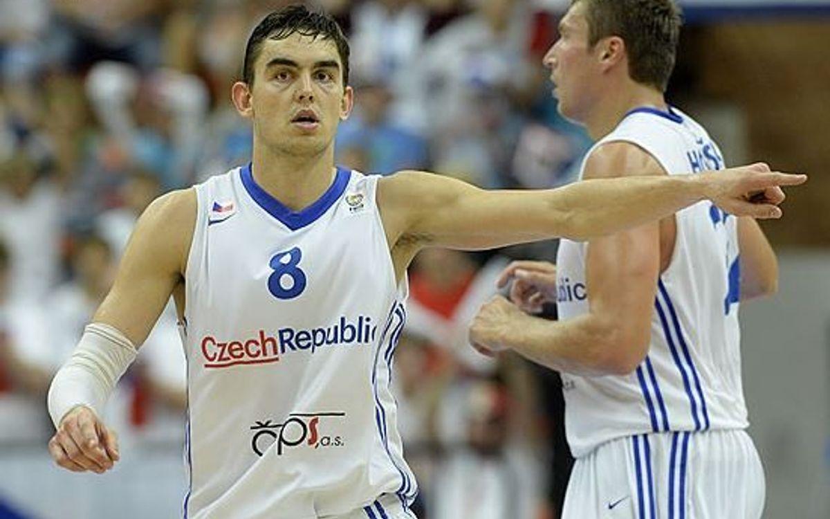 Satoransky lidera els números dels blaugrana a l'Eurobasket