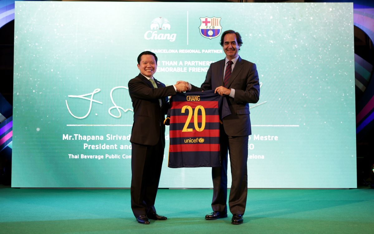 FC Barcelona and Chang renew sponsorship deal