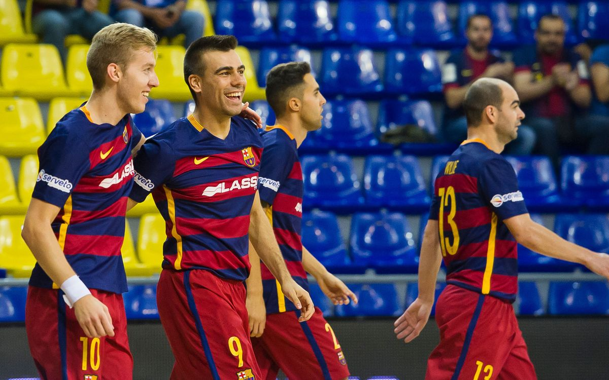 FC Barcelona Lassa – Magna Gurpea: Into the quarter finals (4-1)
