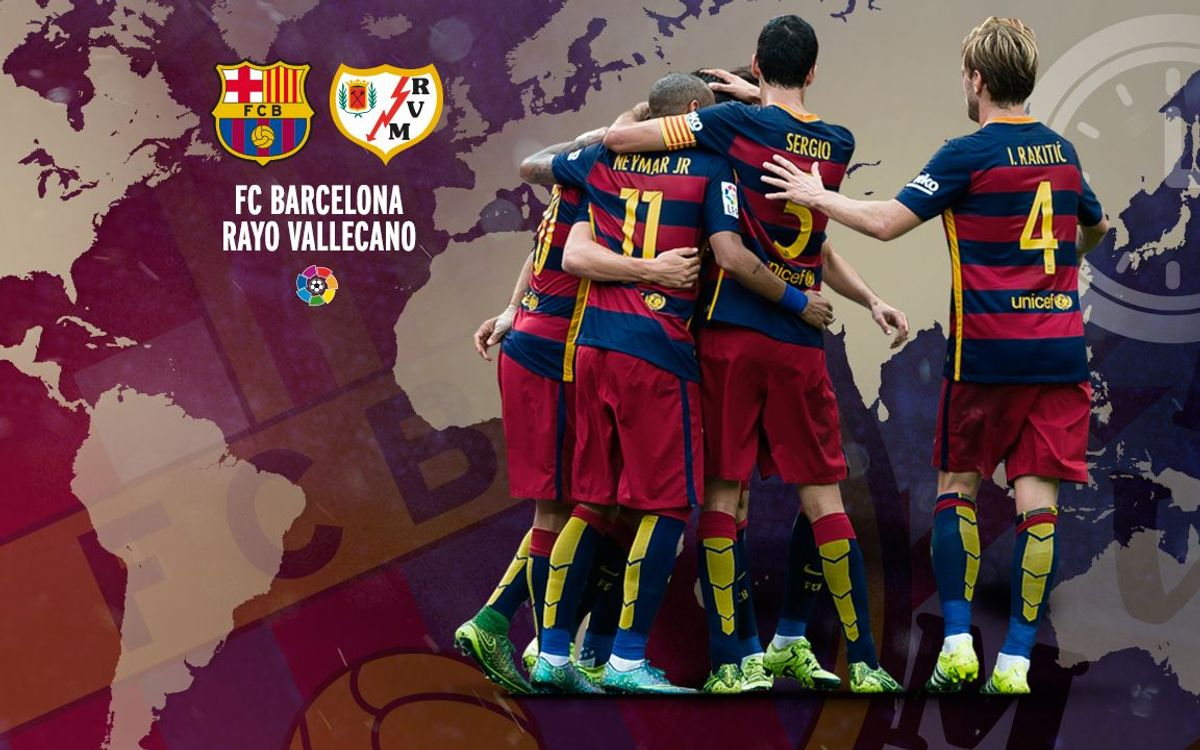 When and where to watch FC Barcelona v Rayo Vallecano