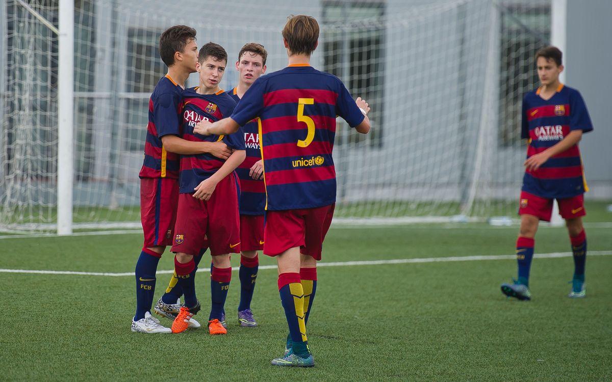 Jornada molt positiva per al futbol formatiu