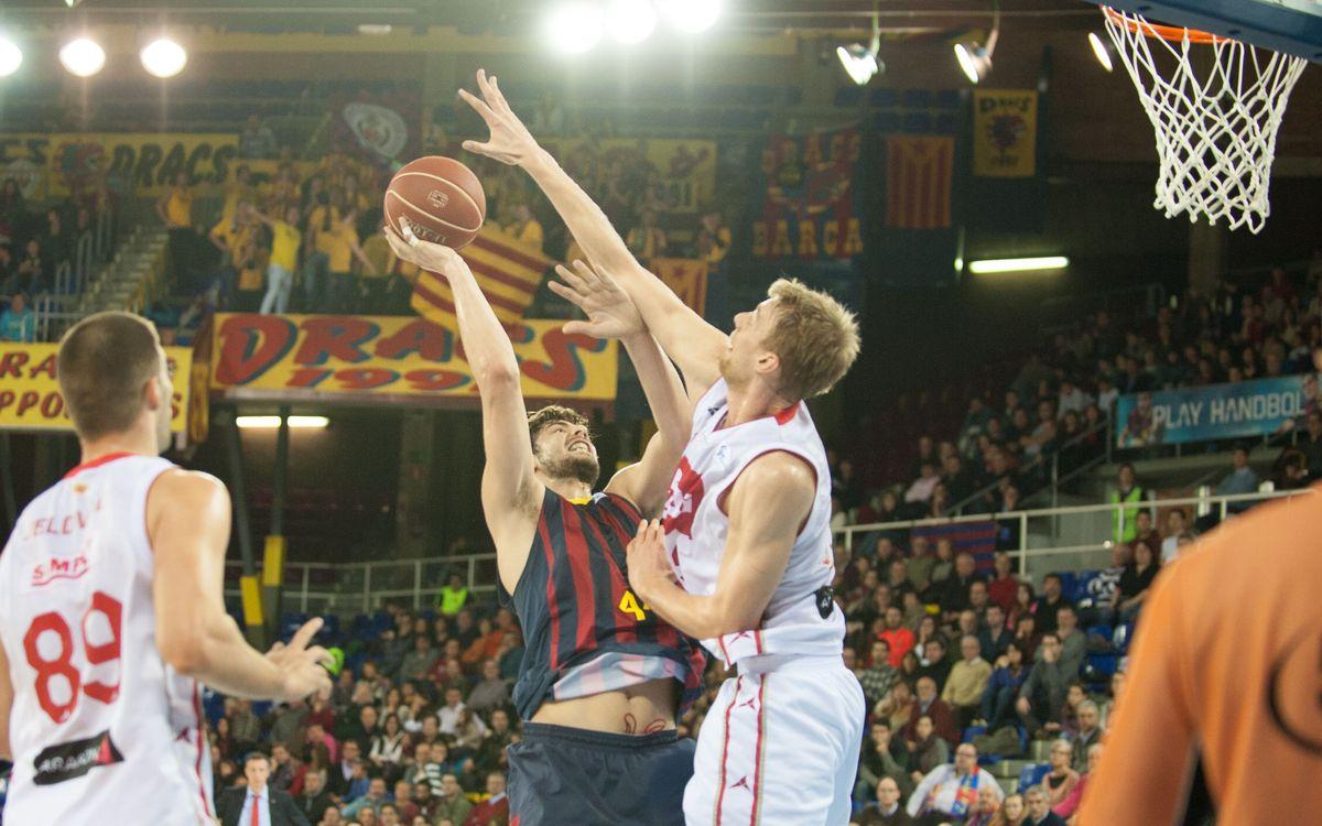 Els precedents entre el FC Barcelona Lassa i el CAI Saragossa a la Lliga Endesa