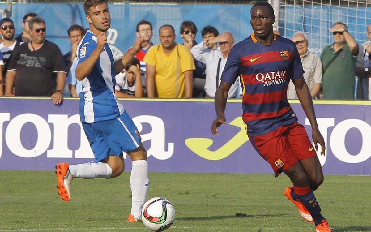RCD Espanyol B – FC Barcelona B: Dues respostes que acaben sense punts (3-2)