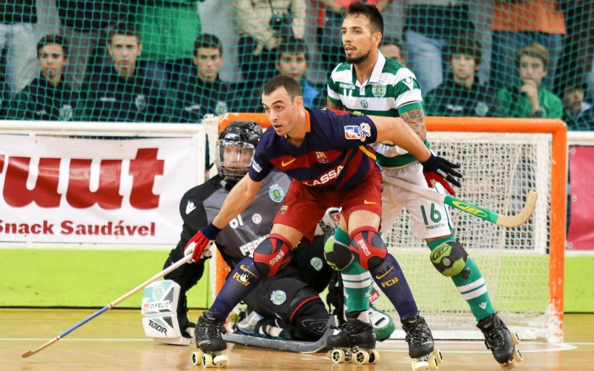 FC Barcelona Lassa fall at Sporting CP, 2–0
