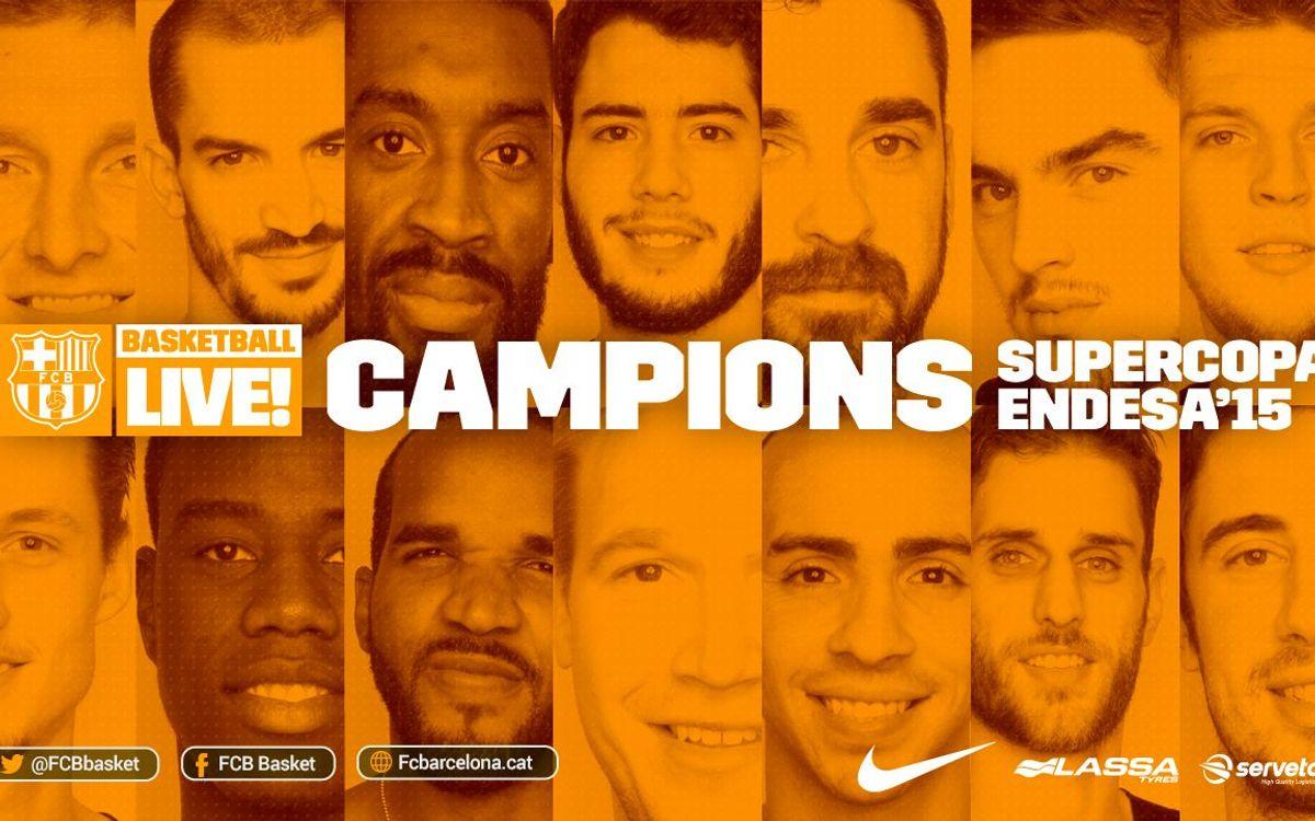 El Barça Lassa, el rei de la Supercopa Endesa