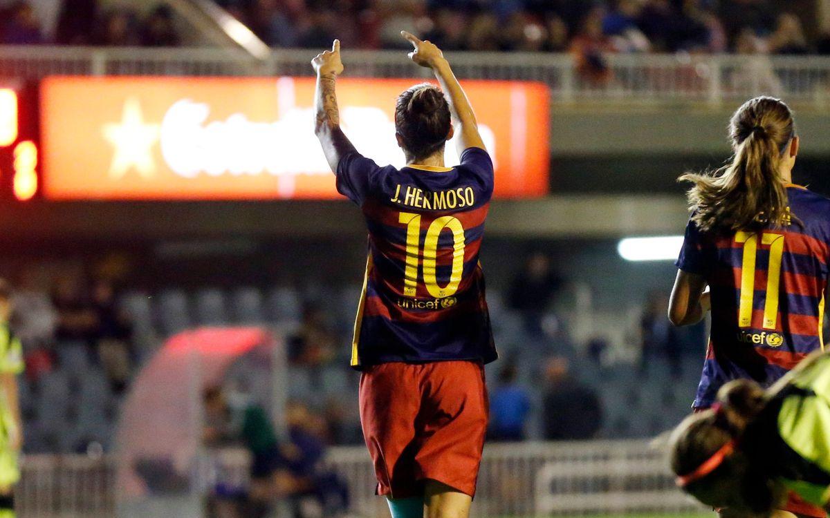 El Twente-Barça, de la Champions femenina, en directo por Barça TV y en streaming en www.fcbarcelona.es