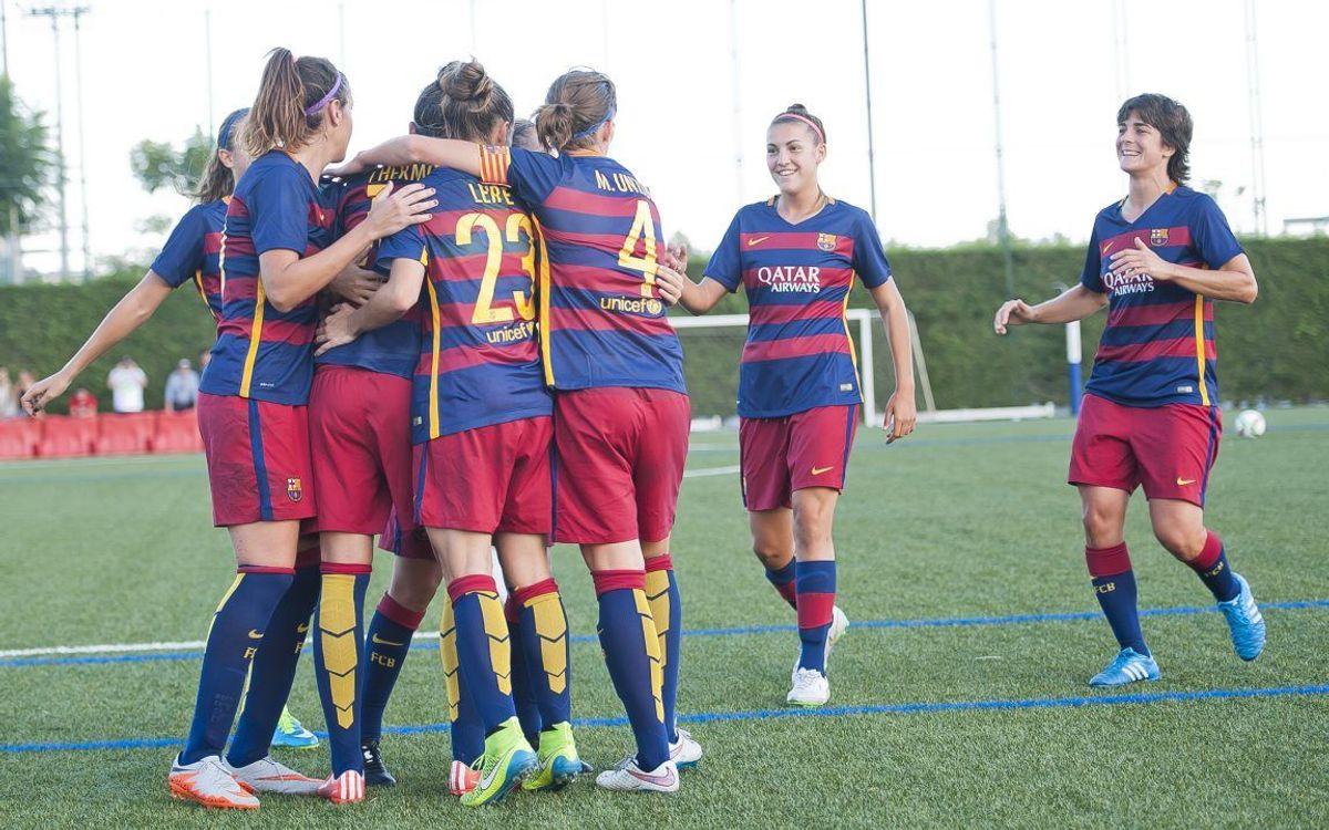 FC Barcelona Women rout Levante in home opener, 7–1