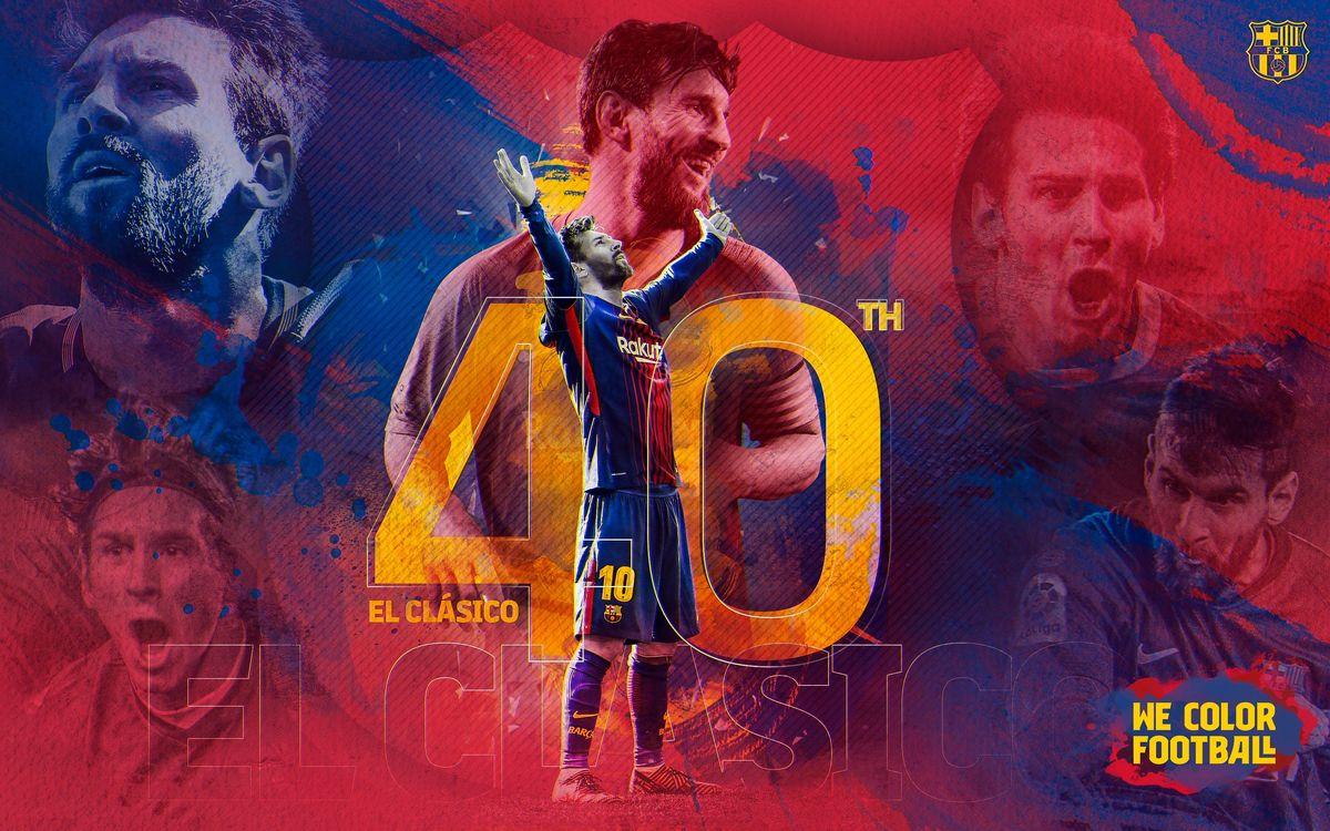 Messi juga el seu 40è Clàssic