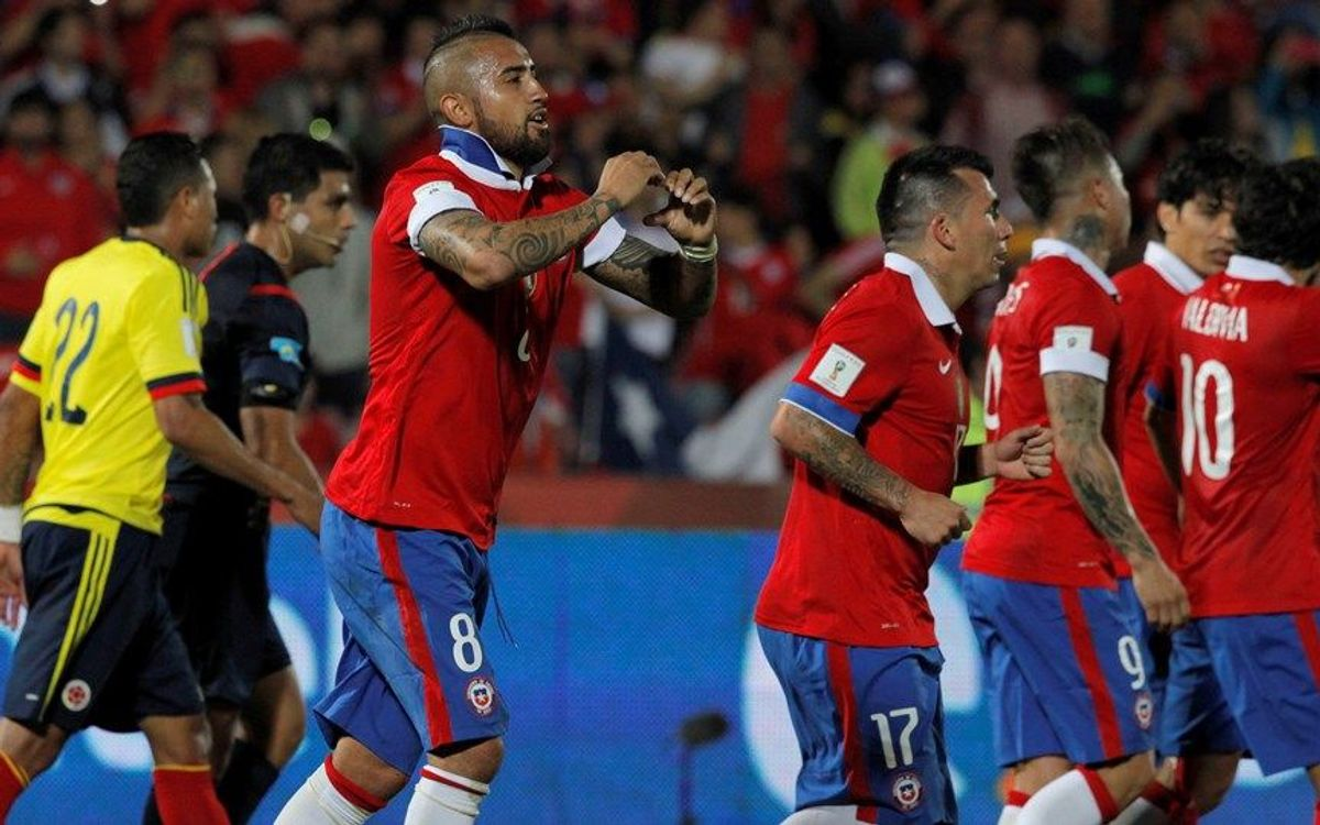 Chile held by Colombia, Argentina v Brazil rained off