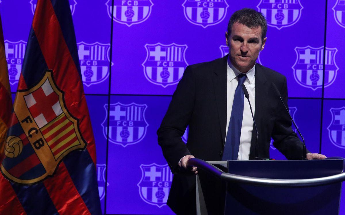 """Robert Fernández: """"Hem de donar molt valor a la nostra plantilla"""""""