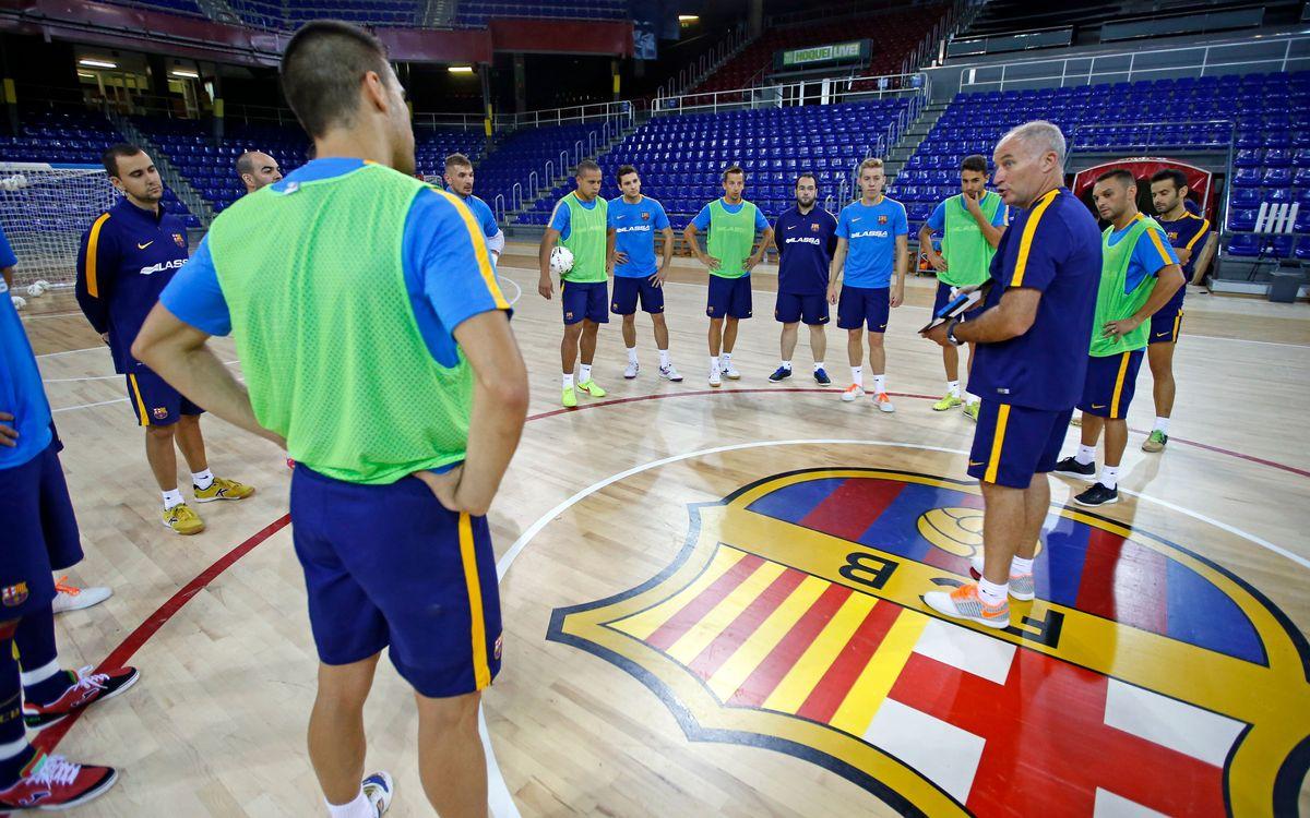 El Barça Lassa pot fer el primer entrenament de la setmana junts