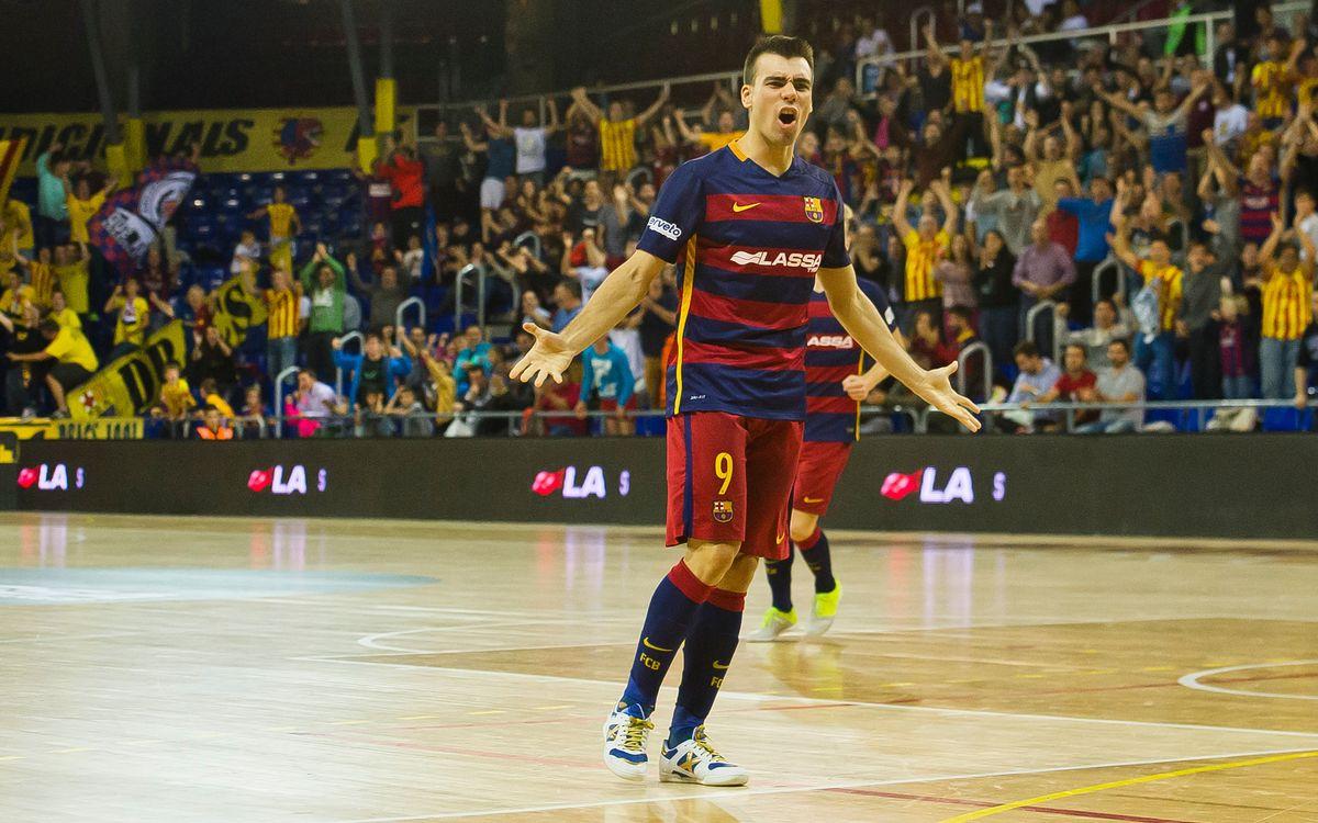 El Barça Lassa iguala el seu millor inici a la LNFS