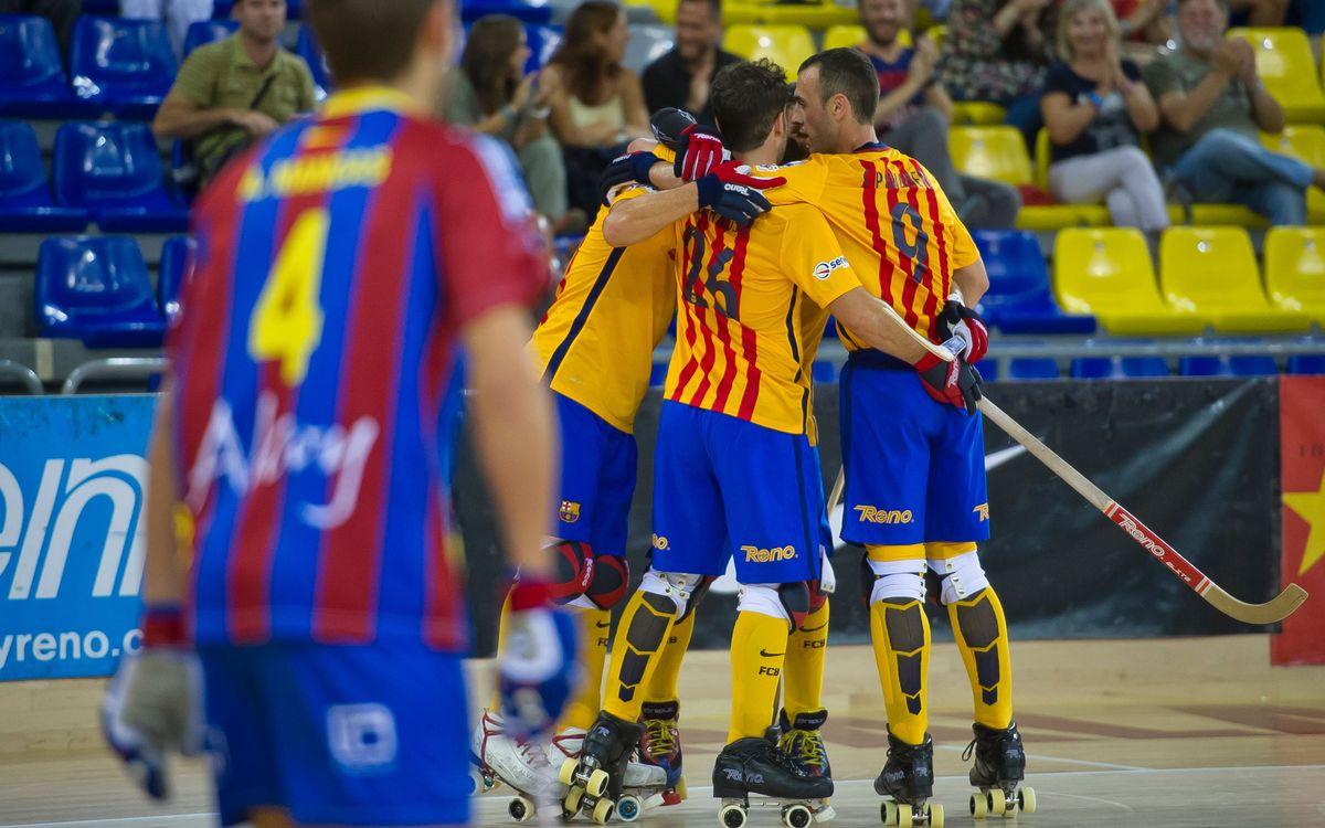 Els horaris de la Copa Continental entre l'Sporting Clube i el Barça Lassa, confirmats
