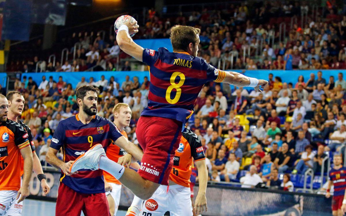 Pas a pas per al Barça Lassa d'handbol