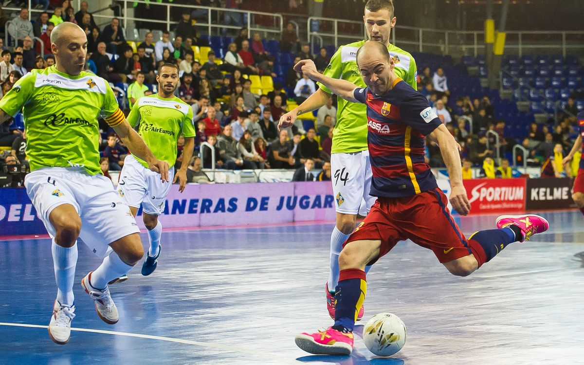 FC Barcelona Lassa v Palma Futsal: Unrewarded intensity (2-2)