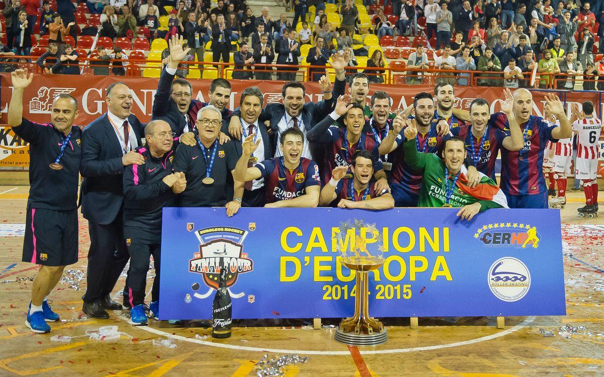 El Porto, el Breganze i l'Iserlohn, els rivals del Barça Lassa d'hoquei a la Lliga Europea