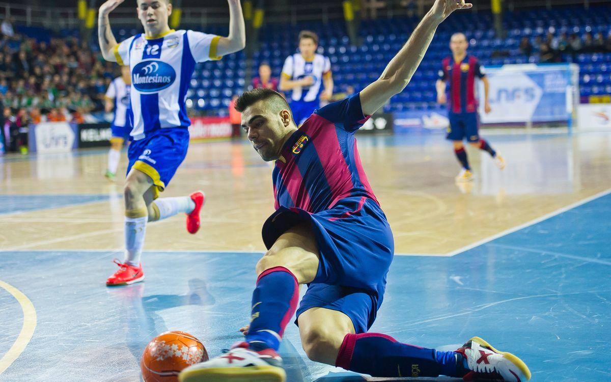 FC Barcelona Lassa - Jumilla: La Lliga torna al Palau
