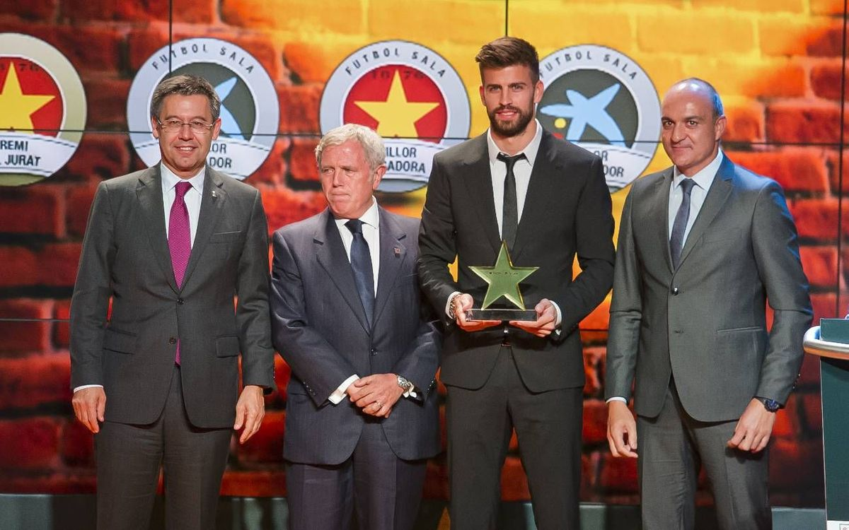 FC Barcelona to the fore at the Gala of the Stars of Catalan Football