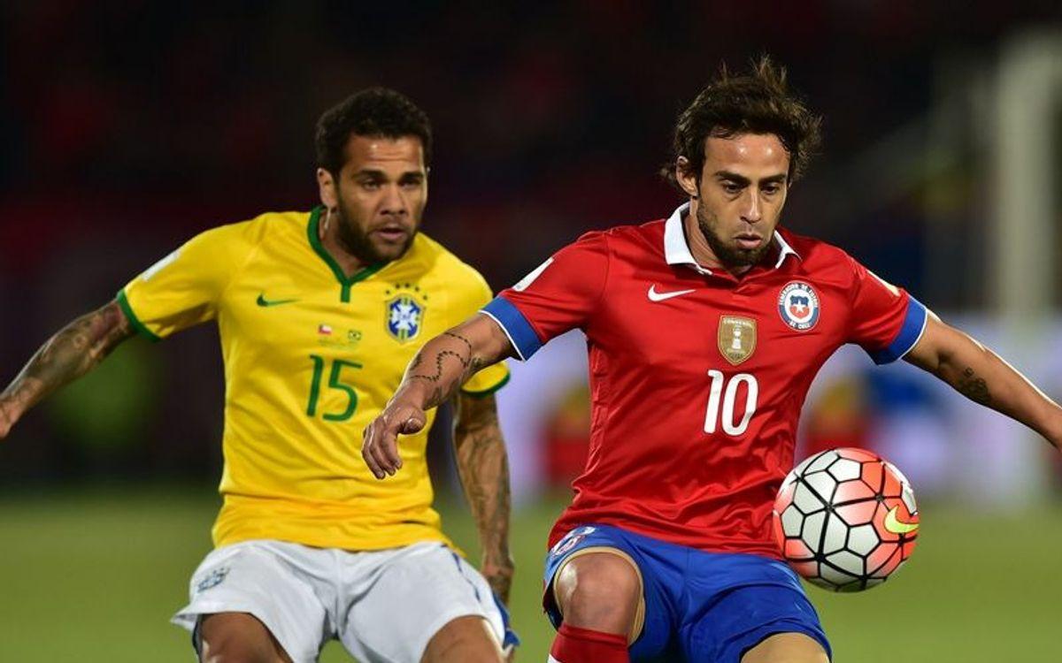 Le Chili de Bravo s'impose face au Brésil d'Alves, et l'Argentine de Mascherano perd