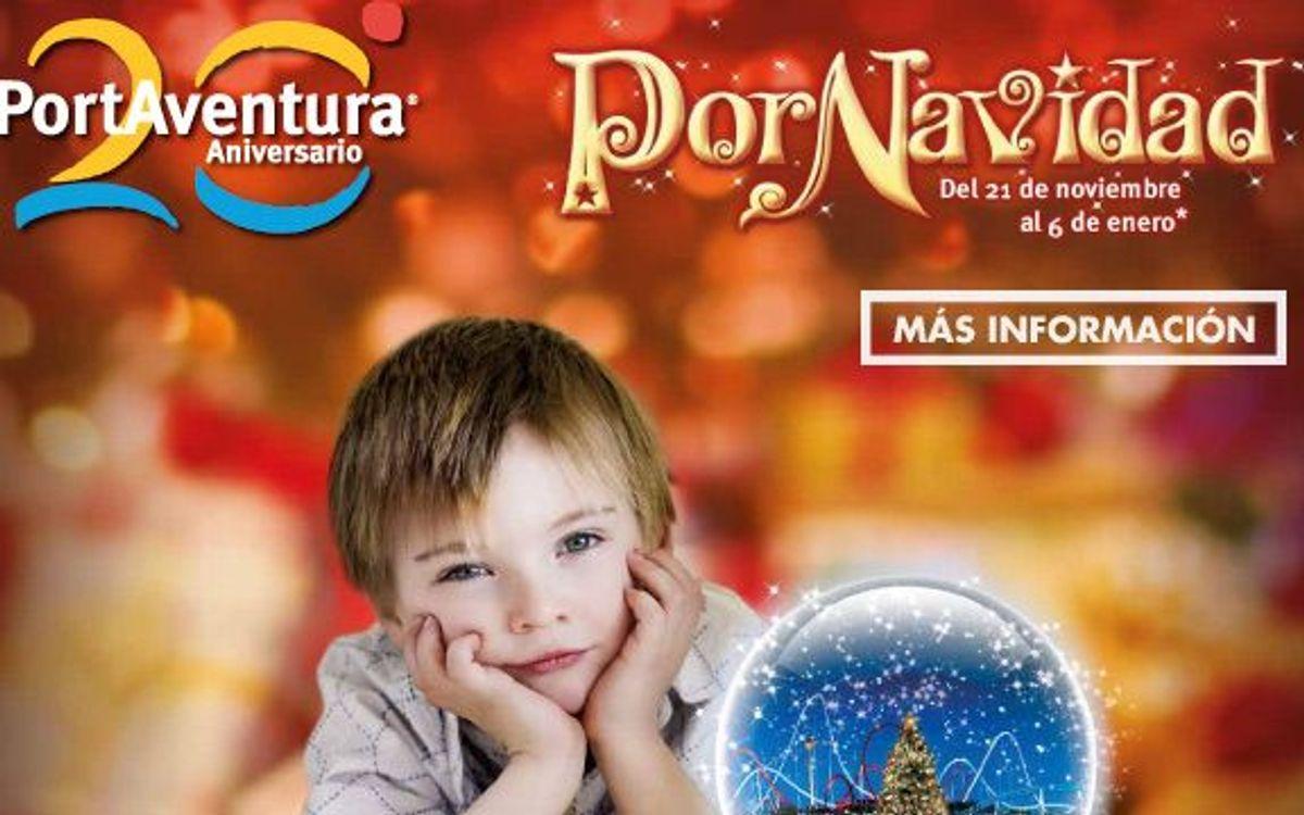 2x1 en PortAventura 'PorNavidad' para los socios del FC Barcelona