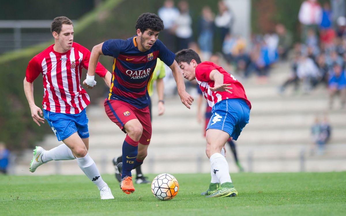 Barça U19A – Girona FC: Three more points (4-1)