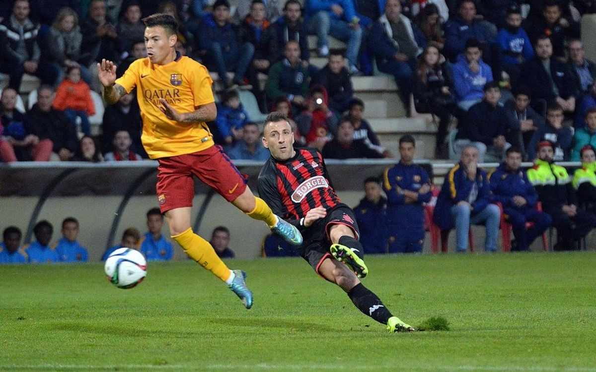 FC Barcelona B fall to leaders Reus, but only just barely