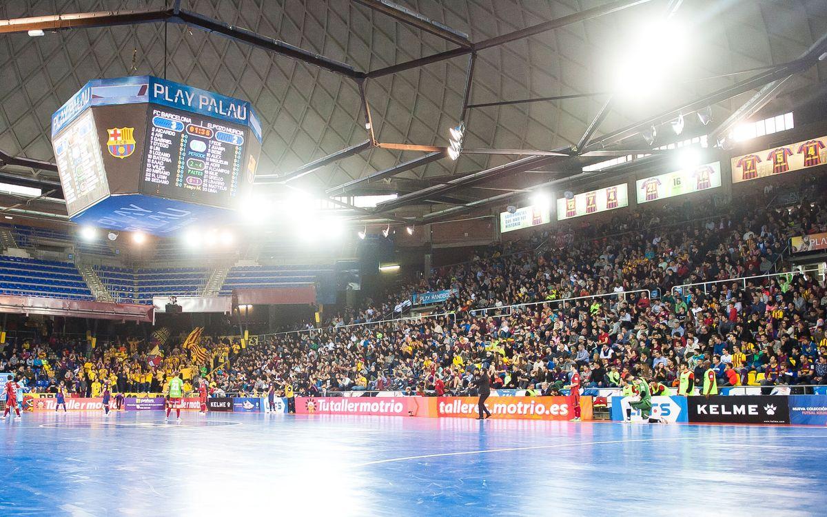 FC Barcelona Lassa-Stelmet Zielona Gora, últim partit per utilitzar l'abonament del Palau de la temporada passada