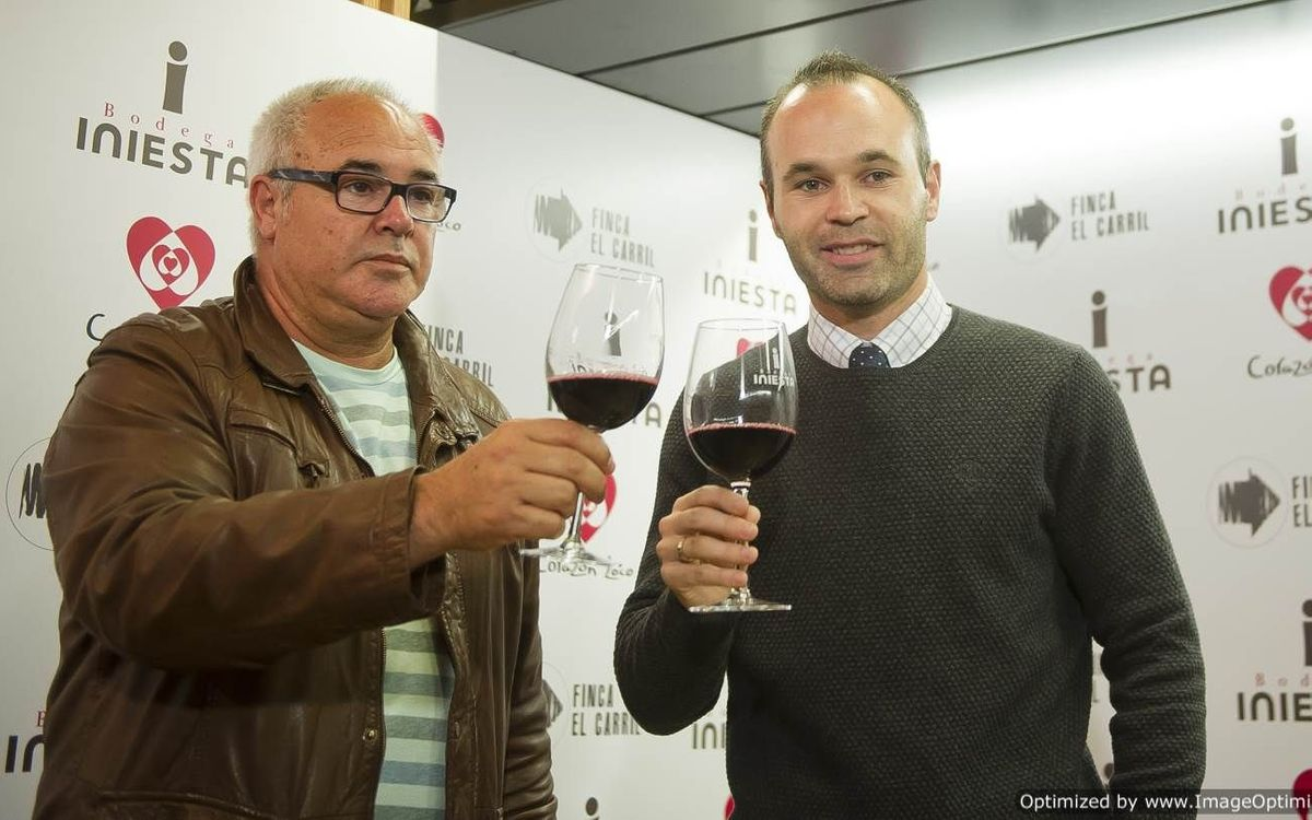Andrés Iniesta positive about the season so far