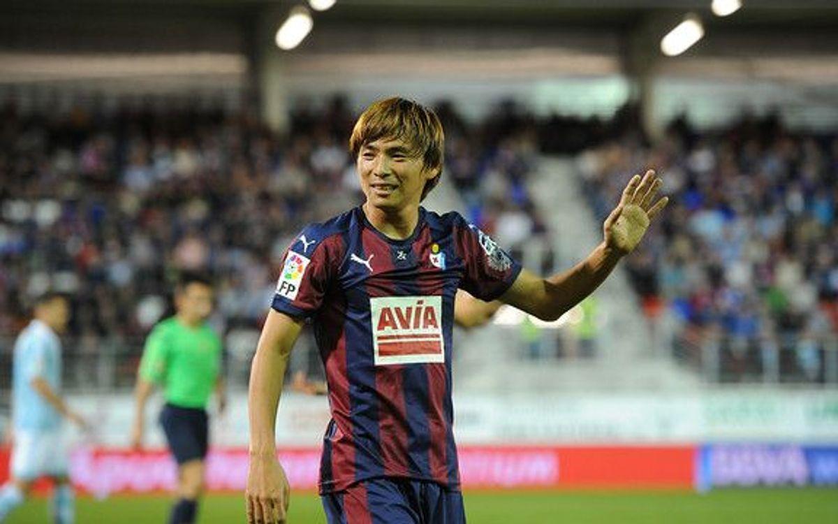 Takashi Inui looking forward to Camp Nou debut
