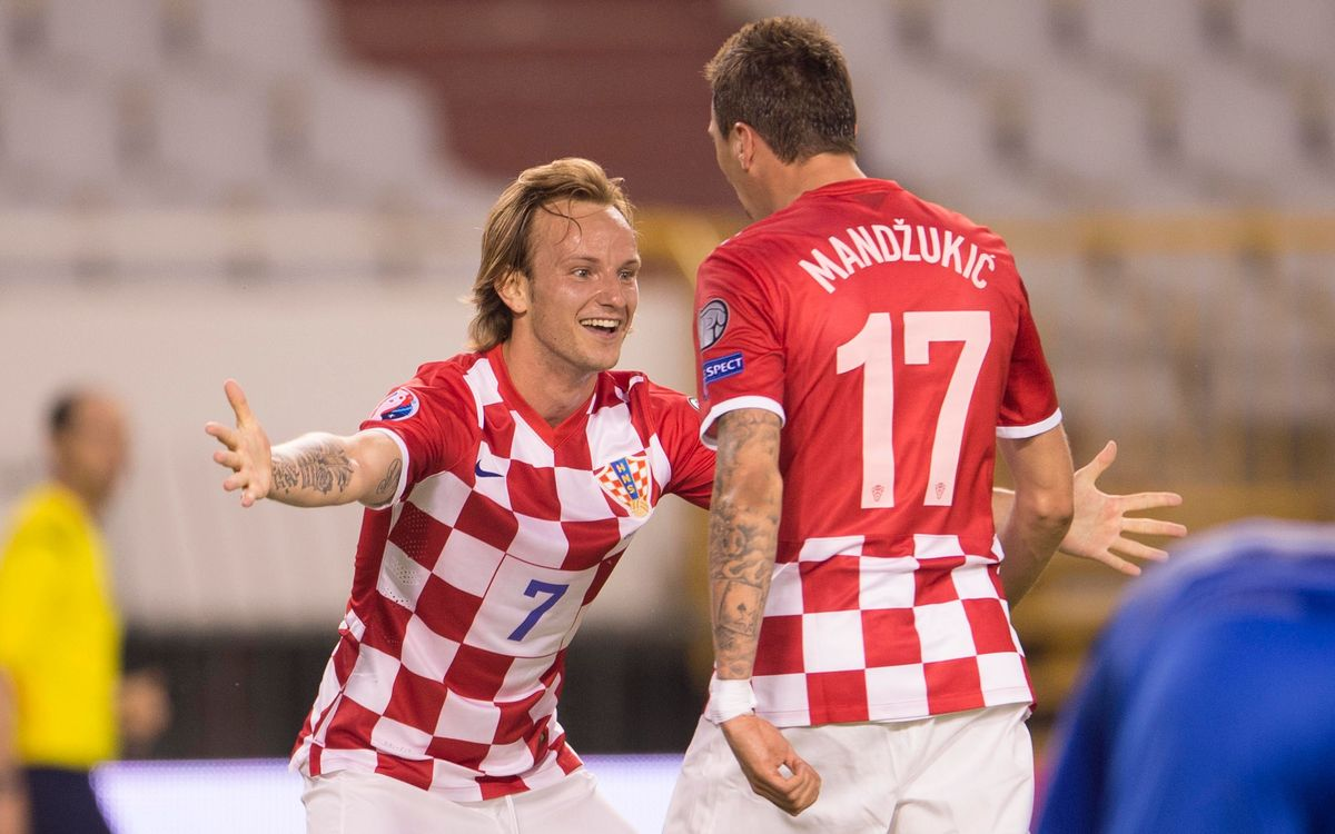 Rakitic's Croatia, Vermaelen's Belgium and Arda's Turkey face Euro 2016 qualifiers