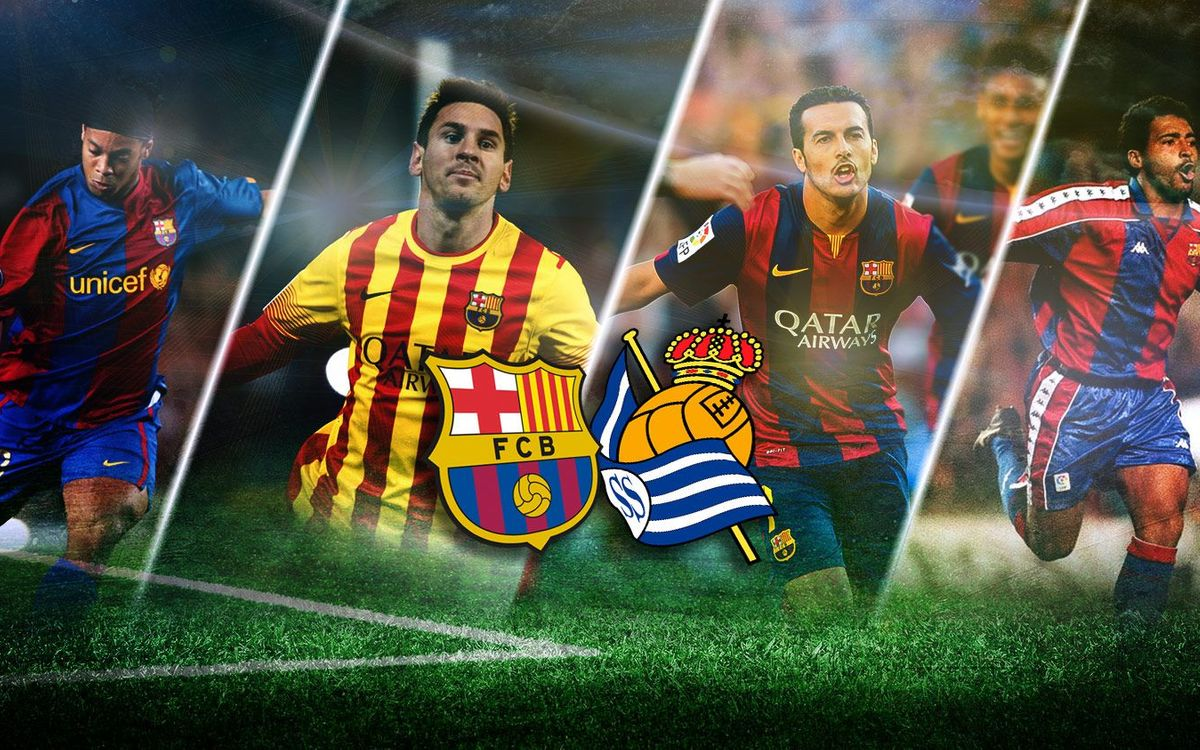 All-time goals vs. Real Sociedad at Camp Nou